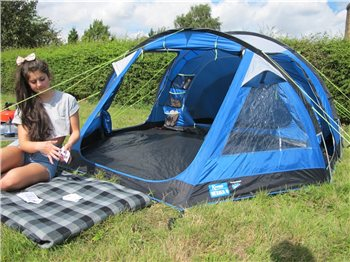 Kampa Dometic Mersea 4 Tent 2018  - Click to view a larger image