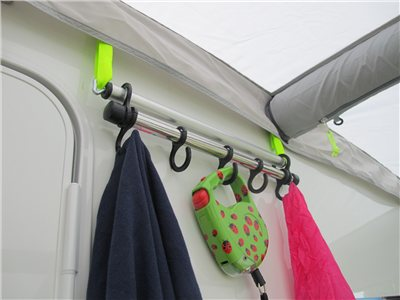 Kampa Dometic Hanging Rail for Accessory Track   - Click to view a larger image
