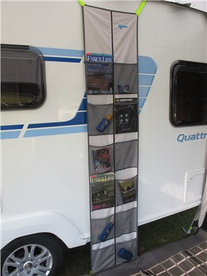 Kampa Dometic Rally Organiser for Accessory Track   - Click to view a larger image