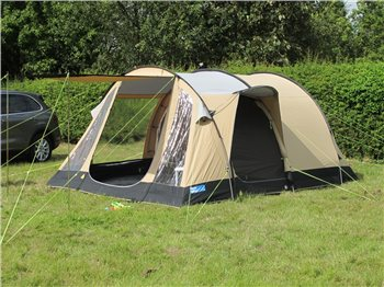 K&a Oxwich 5 Classic Polycotton Tent 2015 - Click to view a larger image & Kampa Oxwich 5 Classic Polycotton Tent 2015 | CampingWorld.co.uk