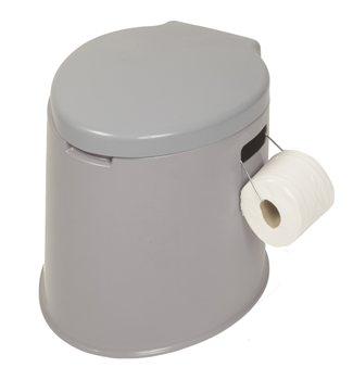 Kampa king khazi portable toilet - Pot de chambre camping ...