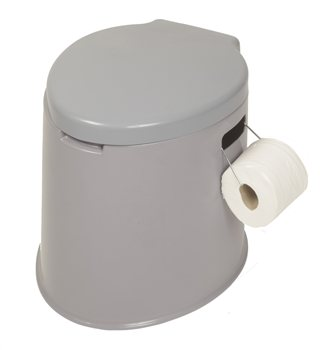 Kampa King Khazi Portable Toilet  - Click to view a larger image