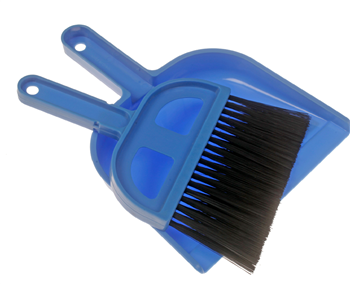 Kampa Bristle Dustpan and Brush 2019  - Click to view a larger image