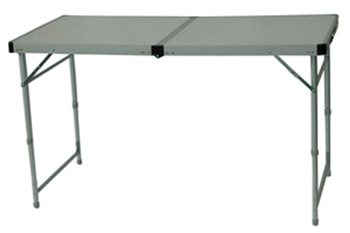 Royal Aluminium Foldaway Table (120cm X 60cm X 52/68cm)   Click To