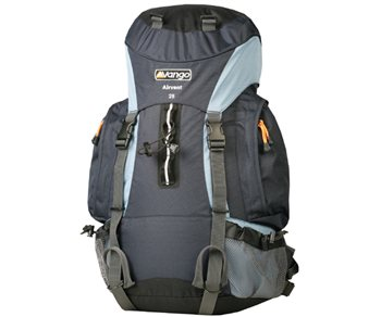 583000b9dbf5 Vango Airvent 25 Rucksack - Click to view a larger image