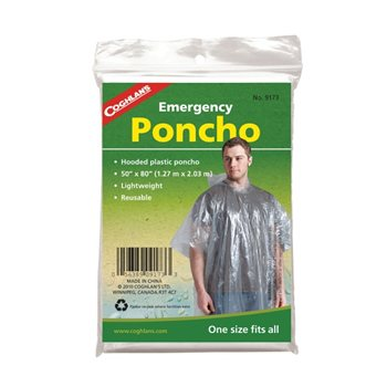 Coghlans emergency poncho  - Klicken Sie hier, um ein größeres Bild zu sehen