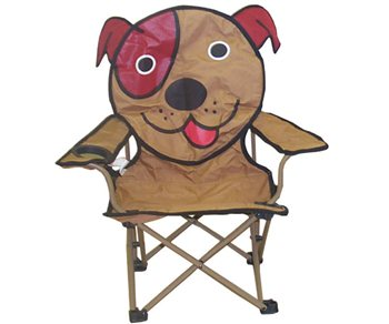 Surprising Kids Animal Antics Folding Chair Dog Dog Theyellowbook Wood Chair Design Ideas Theyellowbookinfo