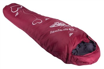 Sprayway Challenger 350 Jnr Heart Sleeping Bag  - Click to view a larger image