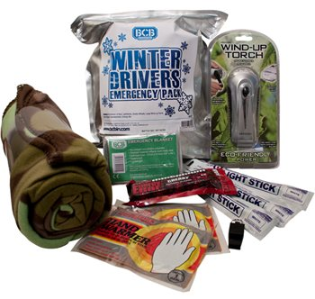 BCB Adventure Winter Drivers Emergency Pack  - Click to view a larger image
