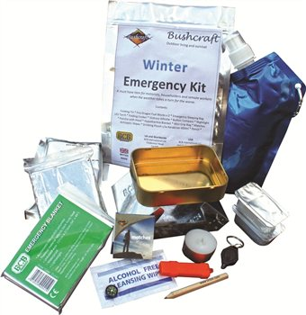 BCB Adventure Winter Emergency Kit  - Click to view a larger image