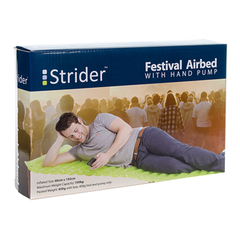 Strider Festival Air Bed And Pump