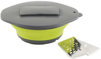 Outwell Collaps Bowl & Lid w/Grater   - Click to view a larger image