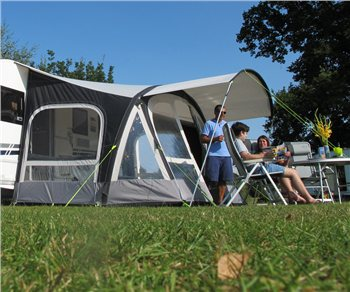 Kampa Fiesta Air Pro 420 Canopy 2018  - Click to view a larger image