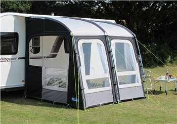 Kampa Rally Pro 260 (Poled) Caravan Awning 2018  - Click to view a larger image