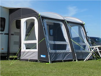 Kampa Rally Pro 330 (Poled) Caravan Awning 2018  - Click to view a larger image