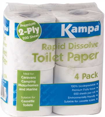 Kampa Rapid Dissolve Toilet Paper   - Click to view a larger image
