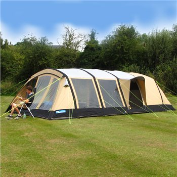 Kampa Croyde 6 Classic Polycotton AIR Tent 2016  - Click to view a larger image