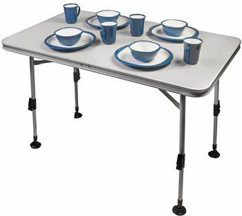 Kampa Element waterproof table Light Grey