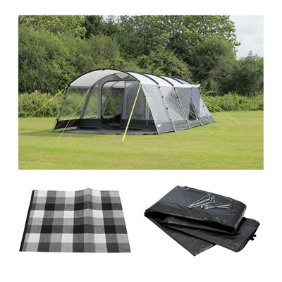 Kampa Croyde 6 Tent Series 3 Package Deal 2019  - Click to view a larger image