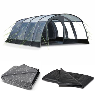 Kampa Dometic Hayling 6 Tent Package Deal 2020  - Click to view a larger image