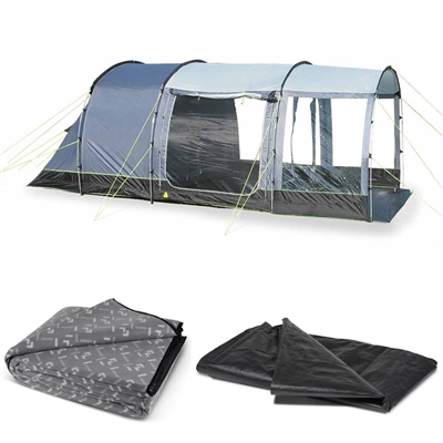Kampa Hayling 4 Tent Package Deal 2019  - Click to view a larger image