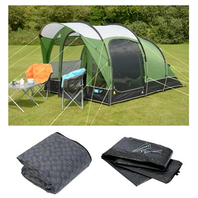Kampa Brean 3 Tent Package Deal 2019  - Click to view a larger image