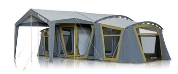 Zempire HQ Canvas Tent  - Click to view a larger image