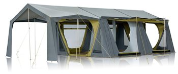 Zempire Mansion Canvas Tent   - Click to view a larger image