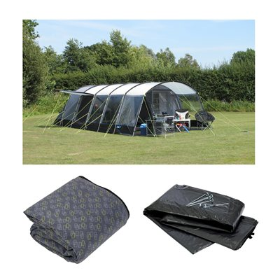 Kampa Croyde 8 Series 3 2018 Package Deal  - Click to view a larger image