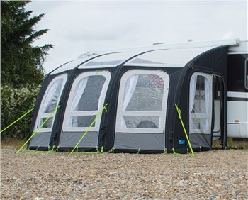 Kampa Motor Rally Ace AIR 400 Inflatable Motorhome Awning 2016  - Click to view a larger image