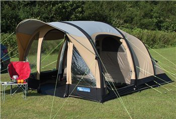 Kampa Brean 4 Classic Polycotton AIR Tent 2016  - Click to view a larger image