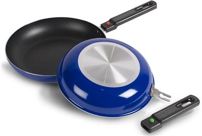 Kampa Sous Non-Stick Frying Pan Set  - Click to view a larger image