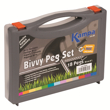 Kampa Bivvy Peg 18 Pack   - Click to view a larger image