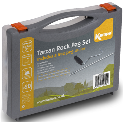 Kampa Tarzan Rock Peg 20 Pack