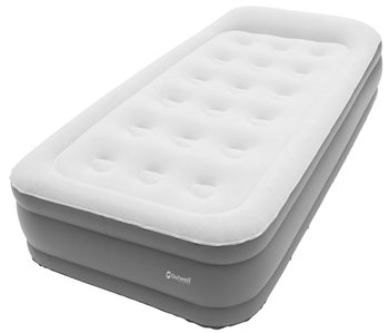 Outwell - Flock Superior Single Airbed With Pump 2019