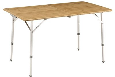 Outwell Custer Bamboo Table   - Click to view a larger image