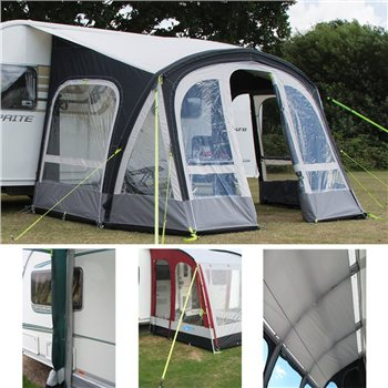 Kampa Fiesta AIR Pro 420 Caravan Awning Package Deal 2016