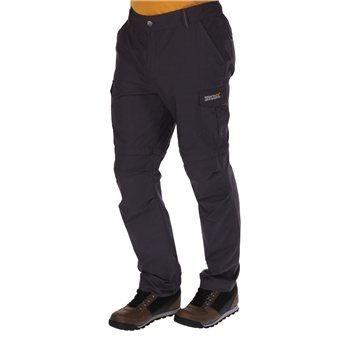 a33e00a44b Regatta Delph Mens Zip Off Trousers Iron - Click to view a larger image