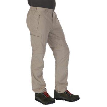 f672bb89a15 Leesville Mens Zip Off Trousers Parchment - Size 30