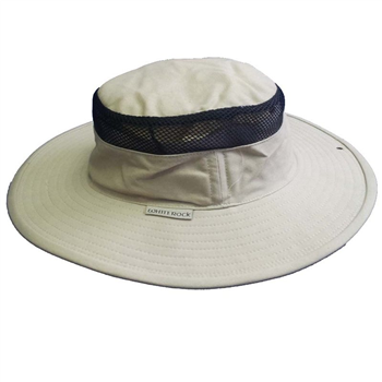 White Rock Classic Outback Hat WITH VENT Olive  - Click to view a larger image