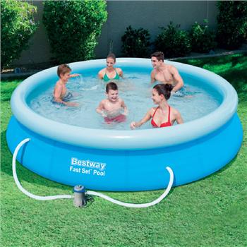 Bestway 12 39 x 30 39 39 fast set pool set for Bestway portable pool