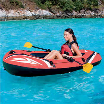 "Bestway 74"" x 39"" Hydro-Force Inflatable Boat Set"