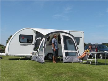 Kampa Fiesta Air Pro 280 Caravan Awning 2018  - Click to view a larger image