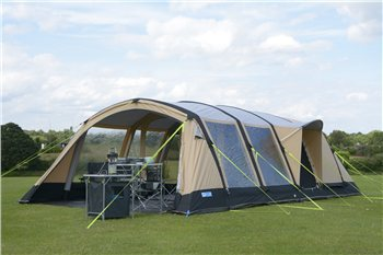Kampa Croyde 6 Classic Air Pro Inflatable Tent 2017  - Click to view a larger image