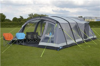 Kampa Croyde 6 Air Pro Inflatable Tent 2017  - Click to view a larger image