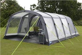 Kampa Hayling 6 Air Pro Inflatable Tent 2017  - Click to view a larger image