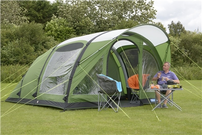 Kampa Brean 5 Air Advantage Inflatable Tent 2019  - Click to view a larger image