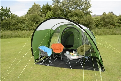 Kampa Brean 4 Air Advantage Inflatable Tent 2019  - Click to view a larger image