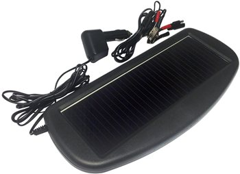Streetwize 12V Solar Trickle Battery Charger  - Click to view a larger image