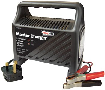 Streetwize Plastic Cased 12V 6 Amp Battery Charger 12V 6 Amp Battery Charger - Click to view a larger image